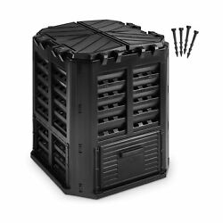 Garden Composter Bin Made from Recycled Plastic – 95 Gallons 360Liter Large... $96.48