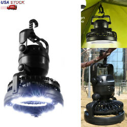2 in 1 Camping Lantern LED Lights with Ceiling Fan Hanging Outdoor Hiking Lamp $17.09