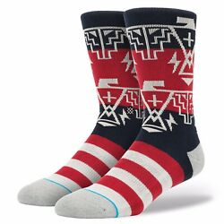 """Stance """"Thundergod"""" Socks Men#x27;s Size Large 9 12 New With Tags $13.00"""
