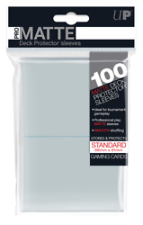 Pro Matte Sleeves 100ct Clear Ultra Pro GAMING SUPPLY BRAND NEW ABUGames $9.00
