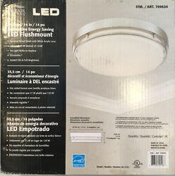 Altair Lighting LED 14 inch Flushmount Dimmable Light Fixture New Open Box $25.00