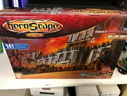 Heroscape wall and tower building pack Fortress of the Archkyrie Sealed $87.59