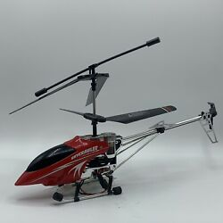 SkyCrawler 3.5 channel gyro outdoor helicopter ONLY NO Tools NO REMOTE. $24.99