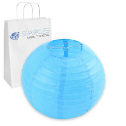 5 pcs 10quot; inch Chinese Paper Lantern Turquoise Wedding Party Event bv $8.99