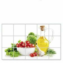 RenxinND Fruit Vegetable Wall Stickers Art Decor Kitchen Wall Self Adhesive S... $9.63