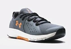 Mens UA Charged Commit 2 Training Shoes Gray Under Armour size 11 $64.00
