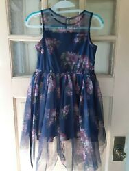 Lilt Girls High Low Party Dress Size Large 10 12 NEW WITH TAGS CLEARANCE $13.50