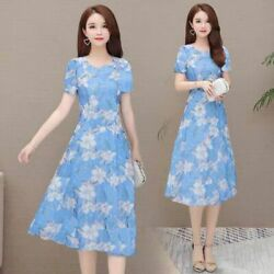 Short Sleeve Party Dresses Maxi women#x27;s Casual Womens V Neck Cocktail Fashion $18.43