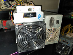 Bitmain Antminer l3 504 mh Used and Tested. DogeCoin Litecoin LTC USA seller $1400.00