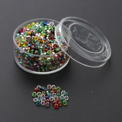 Small Pony Seed Beads Assorted Spacer Mini Beads Jewelry Making Beading Kit $7.50