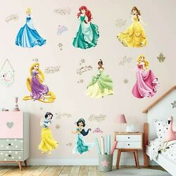 Supzone Princess Wall Stickers Girls Wall Décor Removable Art Decor for Baby ... $17.24