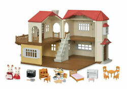 CALICO CRITTERS Red Roof Country Home Gift Set New $89.95