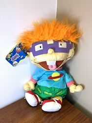 """Rugrats Chuckie Finster Large Plush 1998 Nickelodeon Play By Play Size 24"""" $39.99"""