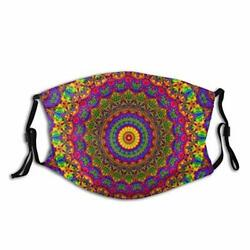 Men Women Novelty with 2 Filters Art Indian Hippie Bohemian Psychedelic Color $20.58