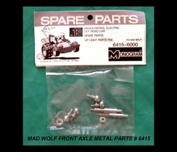 MONOGRAM RC Parts MAD WOLF Front Axle Metal Parts # 6415 New Sealed $17.50