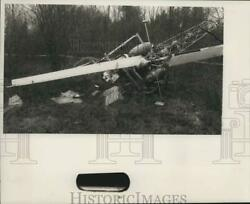 Press Photo Nimo Power Corporation Helicopter Crash in Champion New York $19.99
