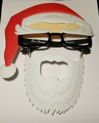 Party Costumes Sun Staches Santa beard Christmas Shades Sunglasses pre owned $10.00