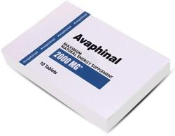 Avaphinal Natural Male Enhancement Performance Stamina booster 10 Pills $25.95