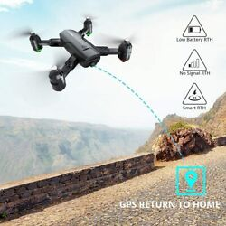 Dragon Touch Foldable RC Drone Quadcopter GPS FPV Camera Drone HD 1080P Video US $56.49
