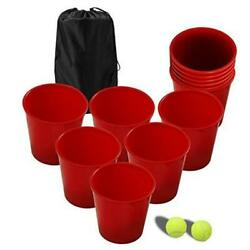 Outdoor Games Yard Games for Adults and KidsGiant Pong Game Set Outdoor for $56.08