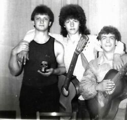 1980s cute boy band wannabes; twinks gay affectionate acoustic guitars from USA $12.99