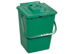 ECO 2.4 gal. Kitchen Compost Collector Organic Waste Recycling Container Bin New $26.62