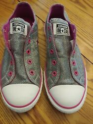 Converse One Star Women#x27;s Size 6 Sneakers Slip On Pink Grey $32.00