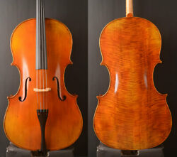 Special Offer An Best Cello 7 8 Size Deep ToneSize for lady Useoil antique $799.00