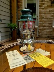 Coleman 242C Lantern with Papers Made in The USA 1949 Pristine Condition $280.00