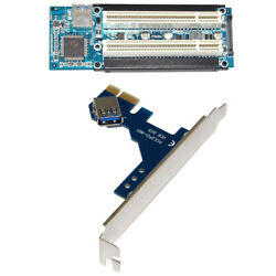 PCI E PCI USB3.0 Hub Controller Card Adapter with 2 Ports for $24.21