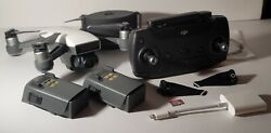 DJI Spark Drone w Lots of Accessories SD Card Two Batteries Range Extender $275.00