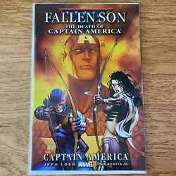 Fallen Son: The Death of Captain America Hawkeye amp; Kate Bishop 2007 Marvel #3 $5.99