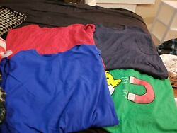 Lot Of 4 T Shirts Big Mens Size 4XL Fruit of The Loom Lot Of 4 $21.88