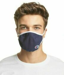 Champion L XL Ellipse Reusable Face Masks New In Box pack of 3 Navy X TEMP $9.95