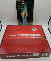 Asus motherboard box and manual only a7v133 $13.95