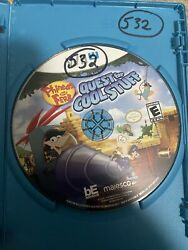 """Phineas and Ferb: Quest for Cool Stuff Nintendo Wii U 2013 Wii U """"DISC ONLY"""" $24.99"""