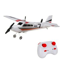 RC Plane RTF Glider Z53 2.4G Airplane With Gyro For Kids Beginner Ready To Fly $35.95