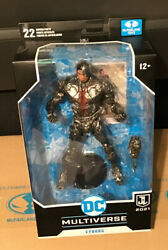 """McFarlane DC Multiverse Justice League 7"""" Action Figure CYBORG In Stock $23.95"""