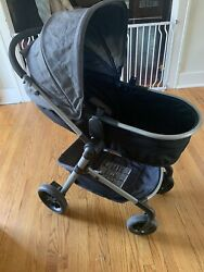 Evenflo Pivot Modular Stroller Charcoal Infant to Toddler In Nice Condition $135.00