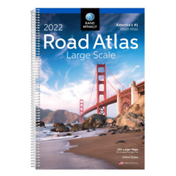 Rand Mcnally USA Road Atlas 2022 BEST Large Scale Travel Maps United States NEW* $17.48