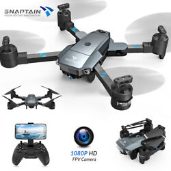 SNAPTAIN A15H 2021 RC Drone GPS 1080P HD Camera 5G WIFI FPV Brush Motor Foldable $48.99
