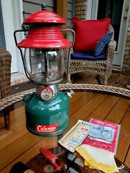 Vintage Coleman 200A Christmas 🎄 Lantern Made in USA 11 1951 $675.00