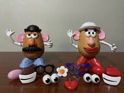 Mr and Mrs Potato Head Pair With Accessories $10.60