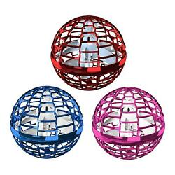 Hand Flying Ball Toys LED Lights Mini Drone Helicopter Outdoor Birthday Gift $29.26