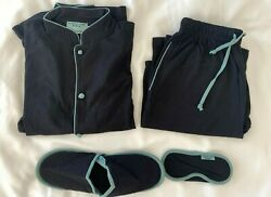 CATHAY PACIFIC quot;Shanghai Tangquot; First Class Sleepsuit Small Slippers amp; Eyeshades $59.00