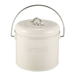 Compost Bin 3L Stainless Steel Kitchen Compost Bin Kitchen Composter for Foo C $46.99
