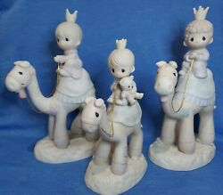 Precious Moments Nativity They Followed The Star Large Camels Three Kings E 5624 $199.99