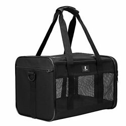 Cat Carrier Dog Pet For SMALL MEDIUM Cats Dogs Puppies Of 15 Lbs Airline Travel $31.14