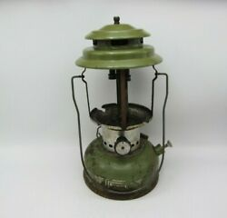 VTG 1973 SEARS AVOCADO GREEN LANTERN 72242 WITHOUT GLOBE BY COLEMAN PARTS REPAIR $64.99