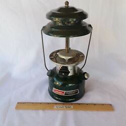 Vtg New Old Stock 1992 Coleman Lantern Adjustable two mantle W O Glass Dome Nice $39.00